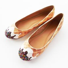 shoe bakery ice cream flats - I'm gonna be needing these IMMEDIATELY