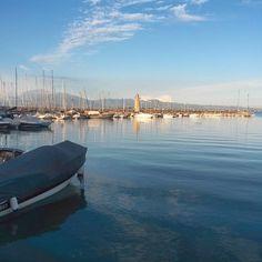 Magic evening. Garda Lake - Instagram by natalikka_ru