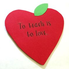 easy teacher appreciation card