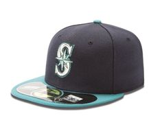 brand new 7143d 3811d Black Friday MLB Seattle Mariners Authentic On Field Cap, Navy Teal, 7 from New  Era Cyber Monday