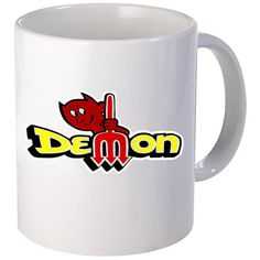 Dodge Demon Logo Ceramic 15oz Coffee Mug