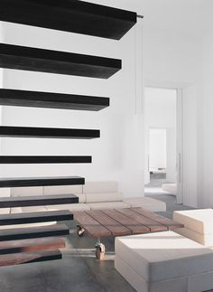 Vivienda En Na Xemena - Picture gallery #architecture #interiordesign #staircase #livingroom