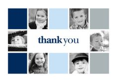 Mixbook Square Photo Collage Thank You Cards