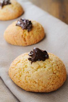 Vulcani alla nutella biscotti veloci allo yogurt vickyart arte in cucina