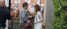 Emma Stone e Joaquin Phoenix insieme sul set di Woody Allen