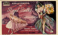 254.  VM YANES. Royal Ballet. Dirigida por Paul Czinner. Valencia: Gráficas Valencia, 1963.  #ProgramasdeMano #BbtkULL #Musicales #DiadelLibro2014