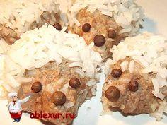 Ежики из фарша с жасминовым рисом