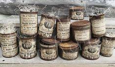 Primitive Pantry Rusty Can Label Vanilla Kitchen Cupboard Vegetable Food Vintage Metal Cupboard Display Ornament Veenas Mercantile Vintage Pantry, Vintage Labels, Vintage Jars, Kitchen Cupboards, Kitchen Art, Primitive Kitchen, Primitive Labels, Primitive Decor, Tin Can Crafts
