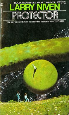 Cover of Protector by Dean Ellis, prolific and prominent sci-fi illustrator