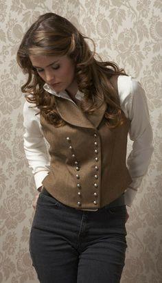 double breasted waistcoat