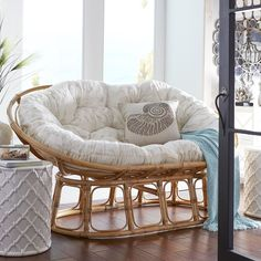 All The Appeal And Comfort Of Our Iconic Papasan Chairu2014and Then Some. With