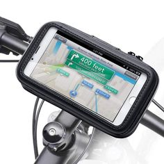 Bicycle Bike Phone Mount Holder, iKross Black Universal Water Resistant Pouch Holster Cover Case with 360 Degrees Rotatable Fits iPhone 7 Plus, 6 Plus Samsung and Android Smartphone Devices - Gran Volvo S60, Samsung S9, Samsung Galaxy, Galaxy S8, Cell Phone Holder, Phone Cases, Bike Holder, Buy Bicycle, Bicycles