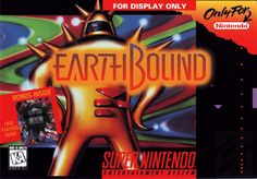 Earthbound SNES by Nintendo/Hal