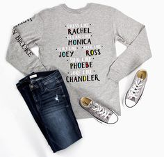 This Friends t-shirt from Jadelynn Brooke is a must have!