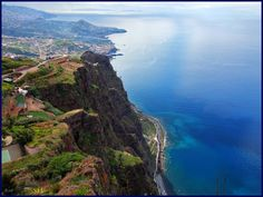Cabo Girão. The most fantastic sightseeing spot in Madeira Island, Portugal