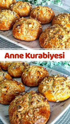 Turkish Recipes, Ethnic Recipes, Biscuit Cookies, Pastry Cake, Anne, Baked Potato, Muffin, Food And Drink, Cooking Recipes