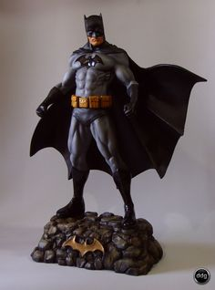 Batman Statue 2 by ddgcom.deviantart.com on @deviantART