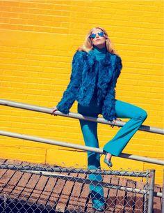 Elsa Hosk by David Bellemere for Marie Claire Italia September 2014