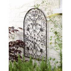 Garden wall art. Maybe for decorating garden gate?