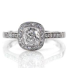 Cushion Enchantment - Knox Jewelers - Minneapolis Minnesota - Fancy Shape - Enchantment, Cushion Cut, Halo, Bezel