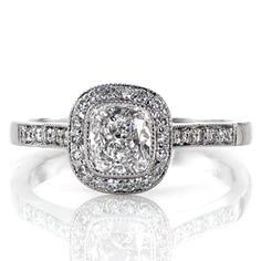 Cushion Enchantment - Knox Jewelers - Minneapolis Minnesota - Fancy Shape - Enchantment, Cushion Cut, Halo, Bezel