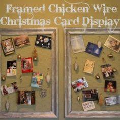 Christmas Card Display Ideas | Christmas card holders, Card ...