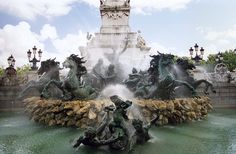 Fountains in Bordeaux France http://www.ghbordeaux.com/fr/index.php