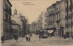 Calle de Santiago, Valladolid 1900