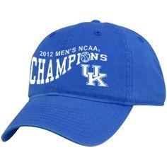 Kentucky Wildcats 2012 SEC Champions Adjustible Cap NCAA Licenced BRAND NEW!