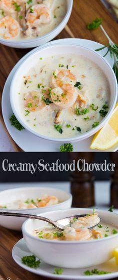 Creamy Seafood Chowder r1
