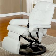 massaging chair.. A black one for u & a white on for me for a B living room