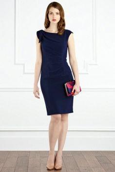 $108.00 COAST BLUE SANTANA CREPE DRESS
