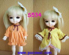 Łat-Yellow-16cm-Ręcznie-S534-Rozen Maiden-Kanaria-Lolita-