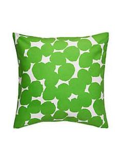for bed, for sofas, for extra-cozy nooks: in the kate spade new york world, there's no such thing as too many pillows--like this graphic dot that's made for mixing and matching. pile them on, settle in and get comfortable.