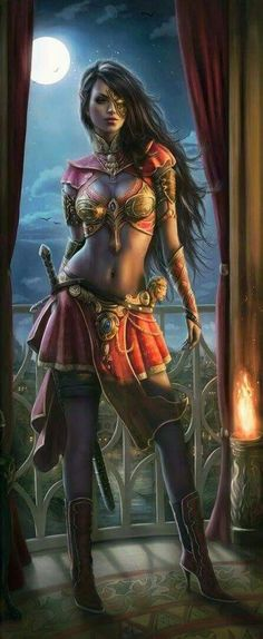 If you are interested in drawing a beautiful fantasy girl, then I hope this article is going to help you. I want to show you some awesome ideas for how to draw your fantasy girl. Dark Fantasy Art, Fantasy Girl, Chica Fantasy, Fantasy Art Women, Fantasy Kunst, Fantasy Artwork, Beautiful Fantasy Art, Fantasy Warrior, Warrior Girl