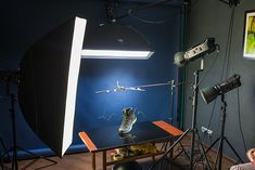 """Making of """"Boot with """"flying"""" shoelaces"""" – Product Photography Behind The Scene Photigy School Of Photography Small Photography Studio, Product Photography, Photography Tutorials, Photography Tips, Bubble Shot, Metal Pipe, Lighting Setups, Advertising Photography, Dark Backgrounds"""