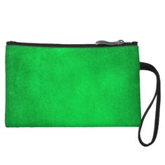 Hecate Green Zip Top Clutch by BOLO CHIC.