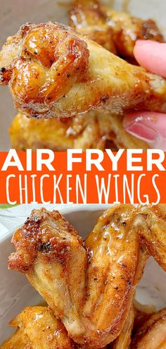Best air fryer chicken wings you need to try as part of your weight loss goals. Air fryer recips are one of the best ways to start a healthy diet. Air Fry Chicken Wings, Cooking Chicken Wings, Crispy Chicken Wings, Chicken Wing Recipes, Cashew Chicken, Chicken Tenders, Keto Chicken, Air Fryer Wings, Air Fryer Fried Chicken