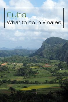 Do you want to visit one of the most beautiful corners of Cuba? Then you should put Vinales on your to-do list.