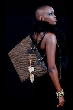 Adele Dejak - Kenyan designer of Africa-inspired handmade fashion accessories