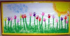 Estampacio mans-flors