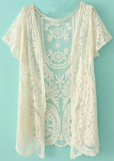 Lace cardi for summer