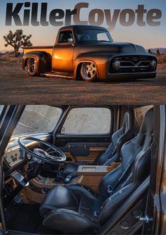 Custom Lifted Trucks, Hot Rod Trucks, Cool Trucks, Pickup Car, Ford Pickup Trucks, Chevy Trucks, Dually Trucks, Ford Truck Models, F100