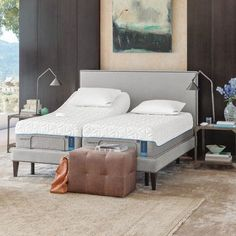 Tempur-Pedic TEMPUR-Ergo Adjustable Bed Size: Dual California King