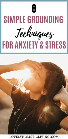 Looking to feel calm with some grounding techniques for anxiety? Have more contol with these mindful grounding techniques you can try anywhere! Anxiety Tips, Stress And Anxiety, Anxiety Help, Anxiety Facts, Anxiety Relief, Stress Relief, Stress Free, Feeling Stressed, How Are You Feeling