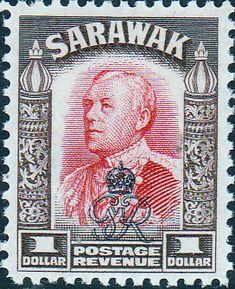 Sarawak 1947 Crown Colony Overprint SG 162 Fine Used Scott 171 Other Sarawak Stamps HERE