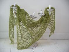 The second crocheted sjawl (Salomon's knot)