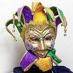 Wholesale Mardi Gras jester mask http://www.awnol.com/store/Masks/Mardi-Gras-Masks