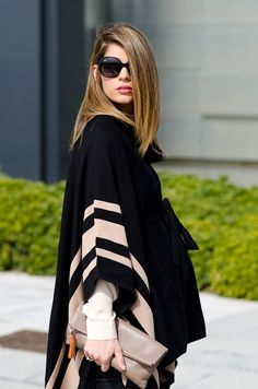 Ms Treinta - Fashion blogger - Blog de moda y tendencias by Alba.: Poncho