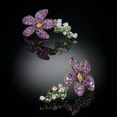 Floral Earrings @leyla_ozakbas